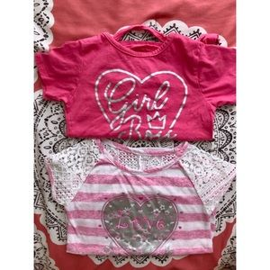 Girls Shirt Lot